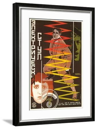 Russian Electric Chair Poster--Framed Art Print