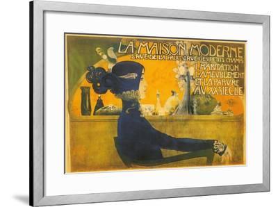 La Maison Moderne--Framed Art Print