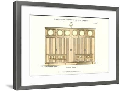 Modern Spanish Carpentry--Framed Art Print