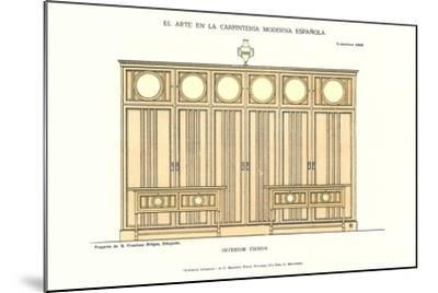 Modern Spanish Carpentry--Mounted Art Print