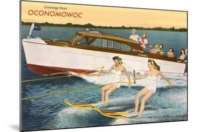 Greetings from Lake Oconomowoc--Mounted Art Print