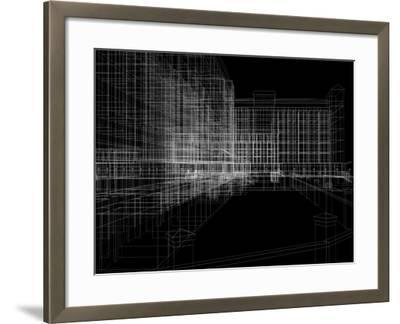 Abstract Archticture-cherezoff-Framed Art Print