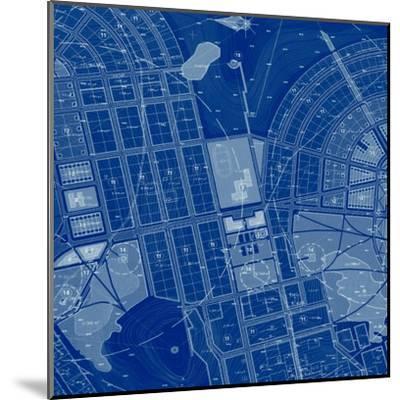 Blue Drawing-Andreyuu-Mounted Art Print