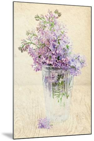 Bouquet of a Lilac-Es75-Mounted Art Print