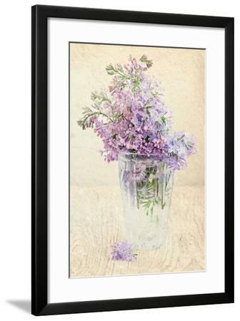 Bouquet of a Lilac-Es75-Framed Art Print