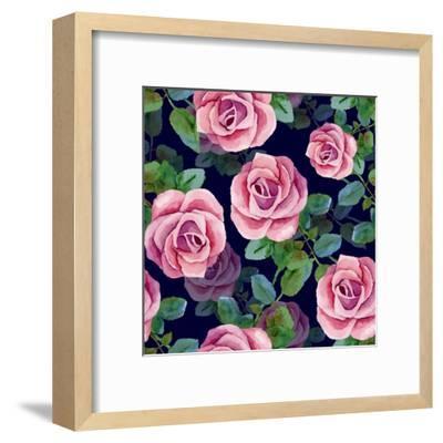 Background-mika48-Framed Art Print