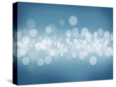 Blurred Bokeh Abstract Background-karandaev-Stretched Canvas Print