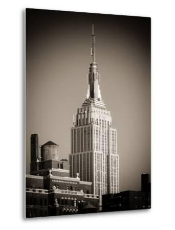 Top of the Empire State Building-Philippe Hugonnard-Metal Print
