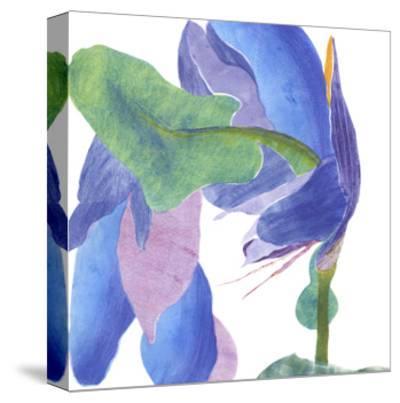 Surprise Indigo II-Carolyn Roth-Stretched Canvas Print