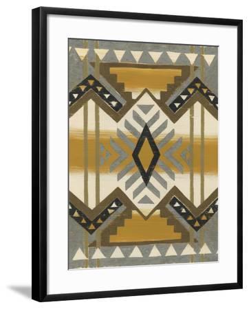 River Canyon II-Chariklia Zarris-Framed Art Print