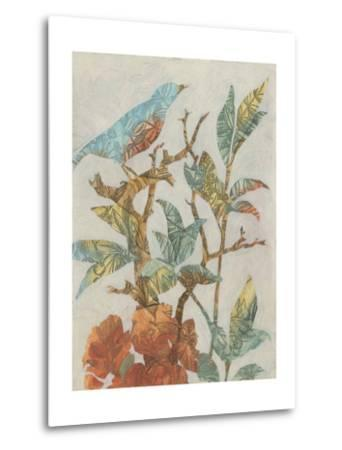 Aviary Collage I-Megan Meagher-Metal Print