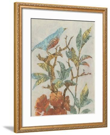 Aviary Collage I-Megan Meagher-Framed Art Print