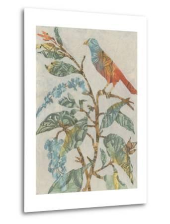 Aviary Collage II-Megan Meagher-Metal Print