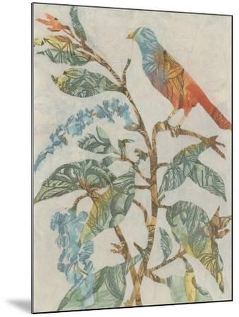 Aviary Collage II-Megan Meagher-Mounted Art Print