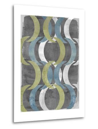 Geometric Repeat I-Jennifer Goldberger-Metal Print