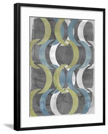 Geometric Repeat I-Jennifer Goldberger-Framed Art Print
