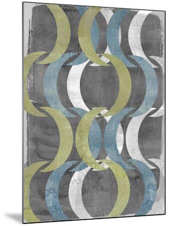 Geometric Repeat I-Jennifer Goldberger-Mounted Art Print