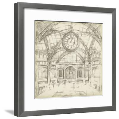 Interior Architectural Study I-Ethan Harper-Framed Premium Giclee Print