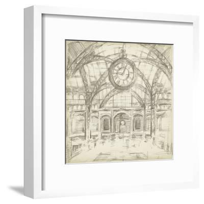 Interior Architectural Study I-Ethan Harper-Framed Art Print