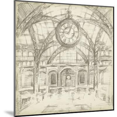 Interior Architectural Study I-Ethan Harper-Mounted Art Print