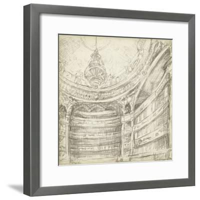 Interior Architectural Study II-Ethan Harper-Framed Premium Giclee Print