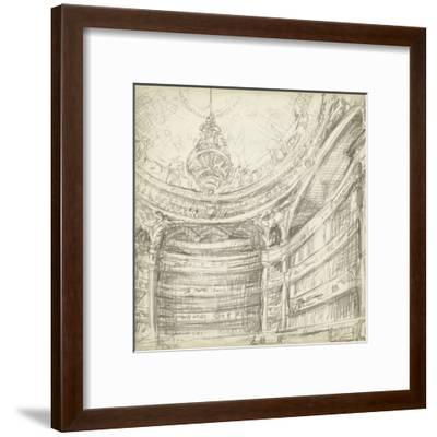 Interior Architectural Study II-Ethan Harper-Framed Art Print