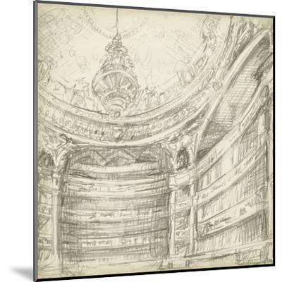 Interior Architectural Study II-Ethan Harper-Mounted Art Print