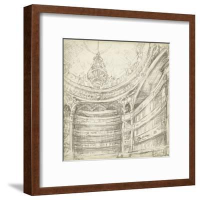 Interior Architectural Study II-Ethan Harper-Framed Art Print