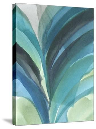 Big Blue Leaf II-Jodi Fuchs-Stretched Canvas Print