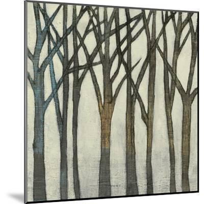 Birch Line II-Jennifer Goldberger-Mounted Art Print
