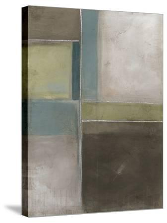 Blues at Dusk II-Erica J. Vess-Stretched Canvas Print
