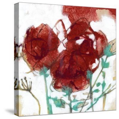 Flower Expression I-Jennifer Goldberger-Stretched Canvas Print