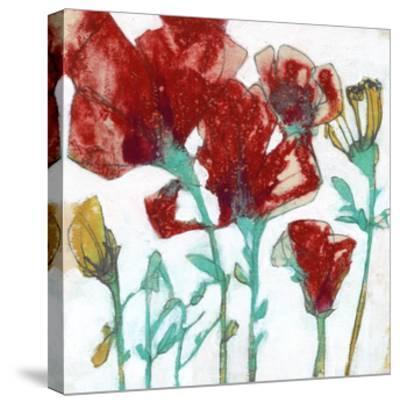 Flower Expression II-Jennifer Goldberger-Stretched Canvas Print