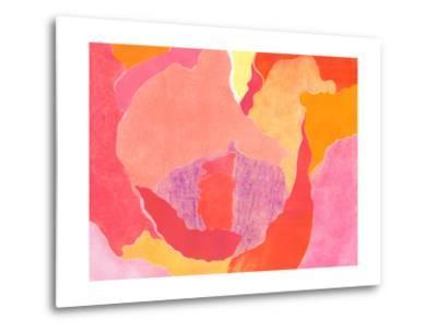 Cabbage Rose IV-Carolyn Roth-Metal Print