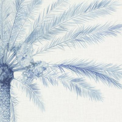 Chambray Palms II-Megan Meagher-Art Print