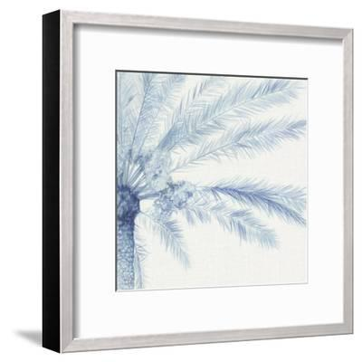 Chambray Palms II-Megan Meagher-Framed Art Print