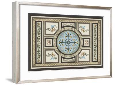 Chateau Panel I-Erica J^ Vess-Framed Art Print