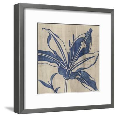Indigo Lily-Chariklia Zarris-Framed Art Print