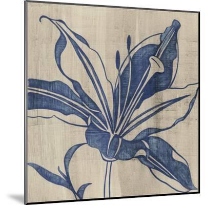 Indigo Lily-Chariklia Zarris-Mounted Art Print