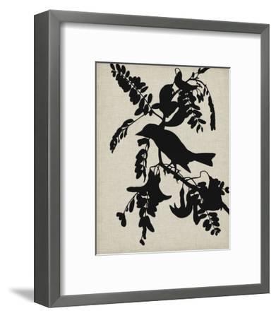 Audubon Silhouette V-Vision Studio-Framed Art Print