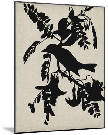 Audubon Silhouette V-Vision Studio-Mounted Art Print