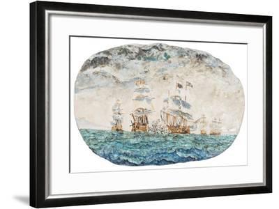 Battle of Trafalgar 1805-Vincent Booth-Framed Giclee Print