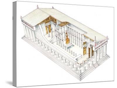 Parthenon, Athens-Fernando Aznar Cenamor-Stretched Canvas Print