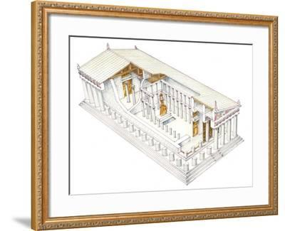 Parthenon, Athens-Fernando Aznar Cenamor-Framed Giclee Print
