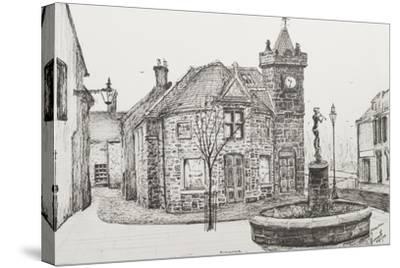 Peter Pan Statue, Kirriemuir, Scotland-Vincent Booth-Stretched Canvas Print