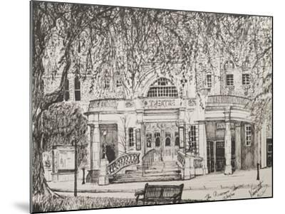 Richmond Theatre London, UK-Vincent Booth-Mounted Giclee Print