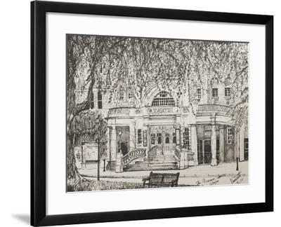 Richmond Theatre London, UK-Vincent Booth-Framed Giclee Print