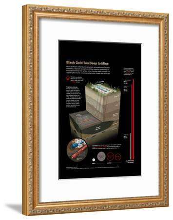 Diagram of the Extraction of Bitumen from Oil Sands-Hiram Henriquez-Framed Giclee Print