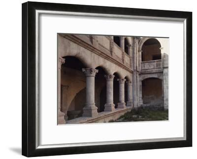 A Close Up View of the Exterior Walls of a Convent in Salamanca-Gervais Courtellemont-Framed Photographic Print