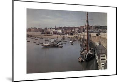 A View of the Harbor in the Resort Town of Ramsgate-Clifton R^ Adams-Mounted Photographic Print